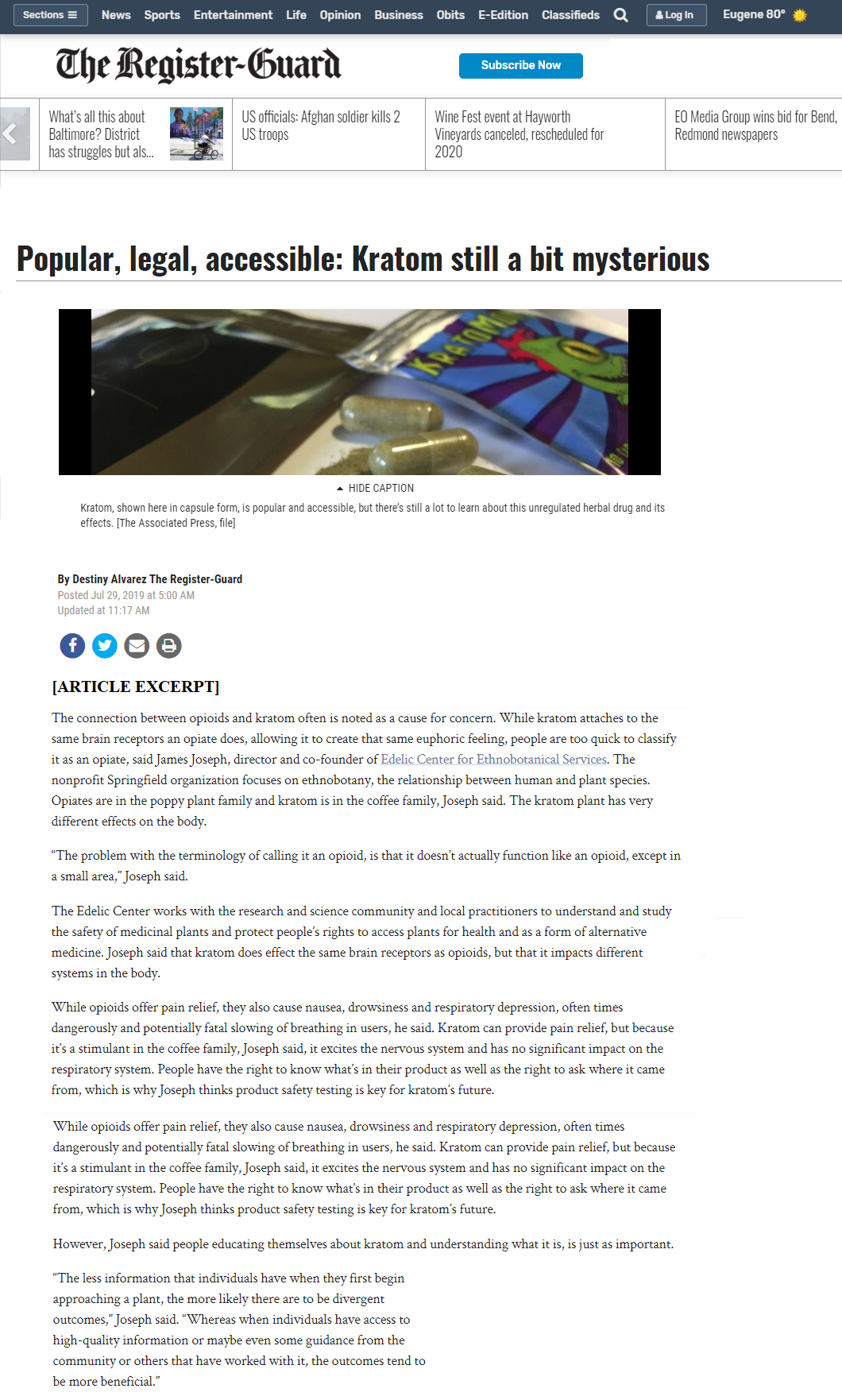 Press & Media Coverage – ECFES